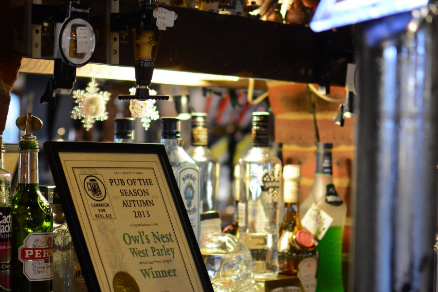 owls nest, owl's nest, west parley, ferndown, real ale, ale, beer, food, great food, pies, best places to eat, CAMRA, dorset