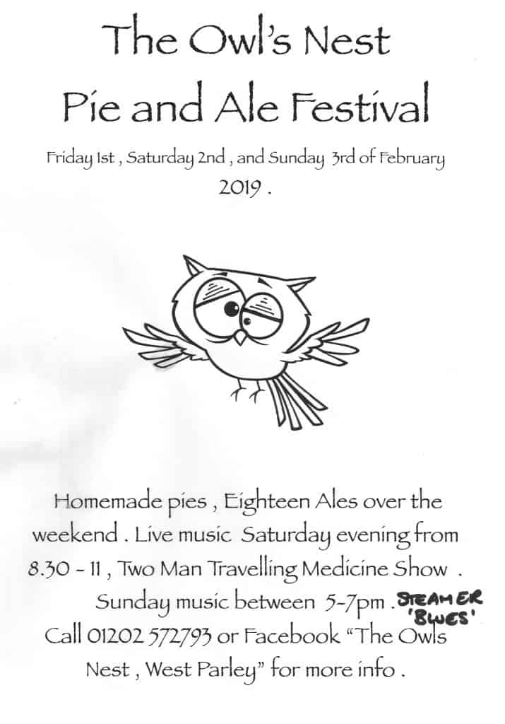 Owls Nest Beer Festival 2019